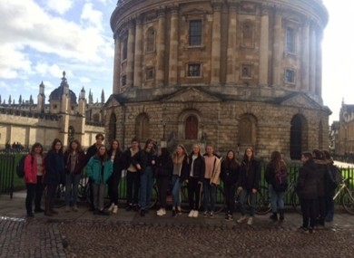 Thumbnail Year 11 Oxford Trip 2020
