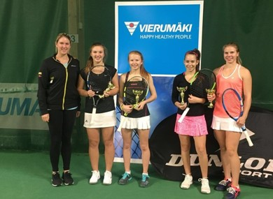 Pe page millie and morgan itf doubles win finald g4 2017